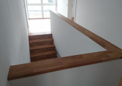 Stufen, Setztsufen & Sockelabdeckung in Eiche Parkett (geölt)