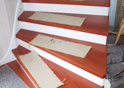 2. Schritt: Stufen & Setzstufen