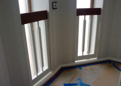 7. Schritt: Fenstergitter (abnehmbar)