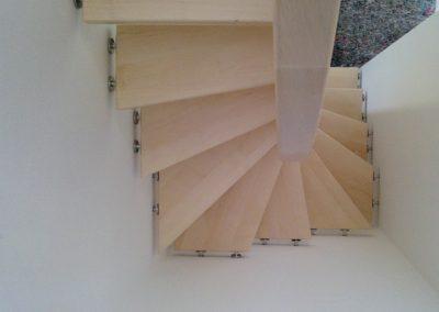 Segeltreppe auf 1 qm